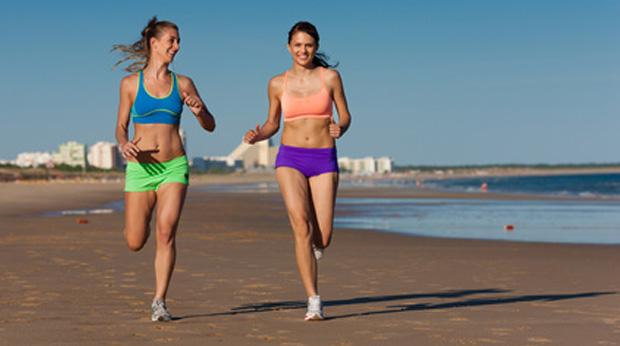 beim joggen flirten