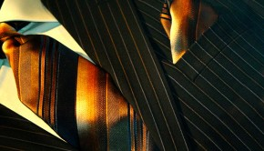 Krawatte und Einstecktuch