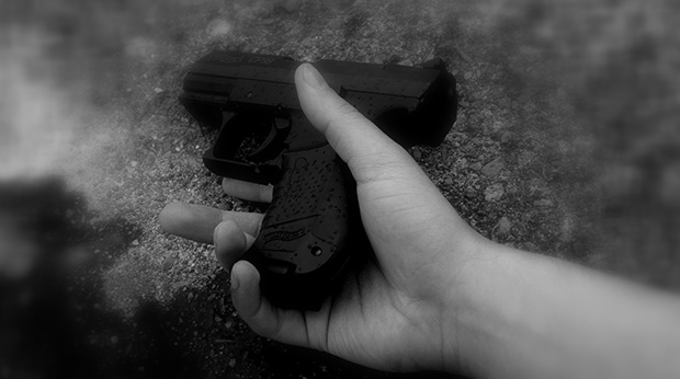 Mörder mit Pistole