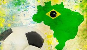 Brasilien und ein Fussball