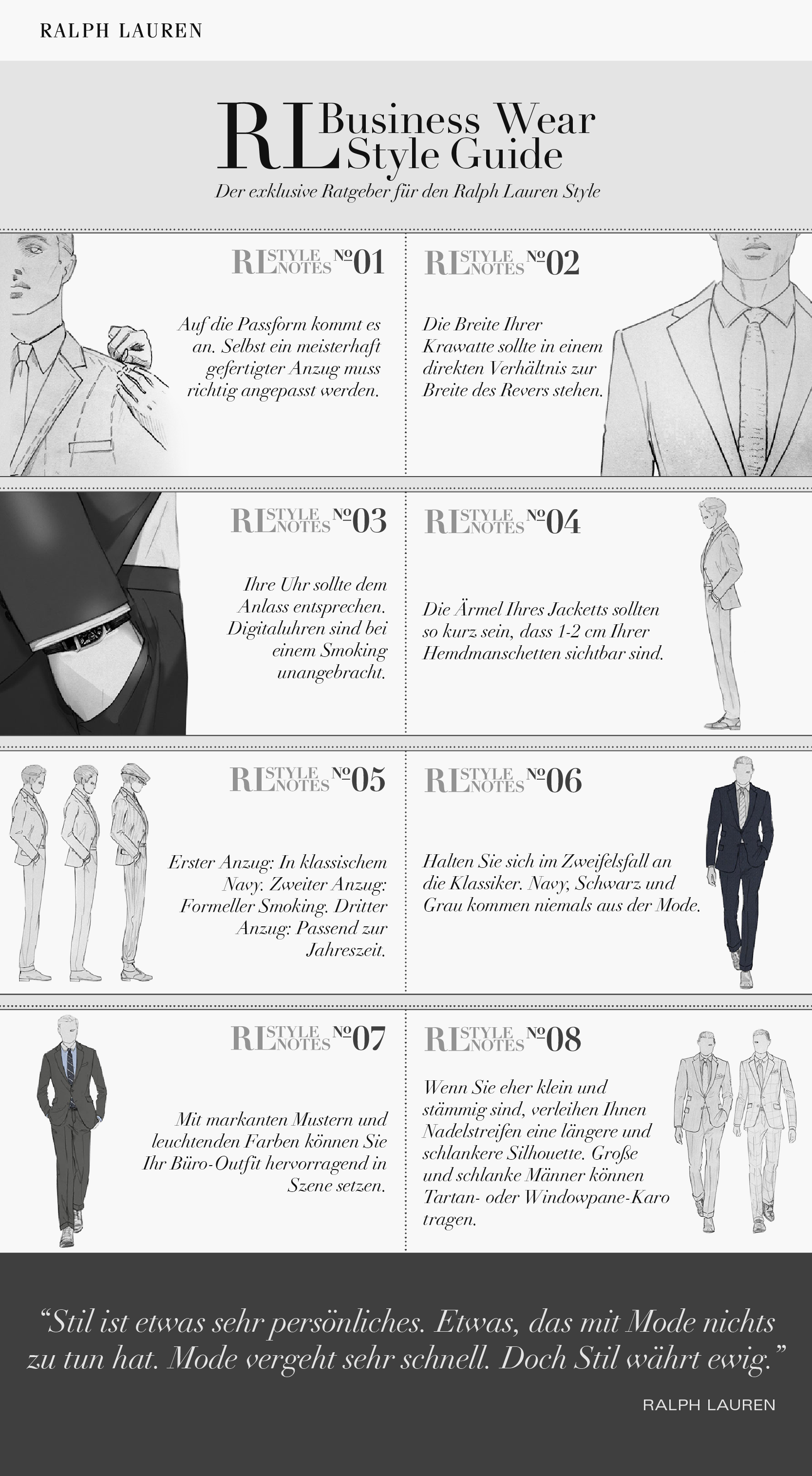 Business Wear Style Guide