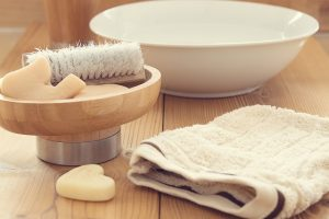 Seife Handtuch