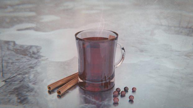 Glas Glühwein