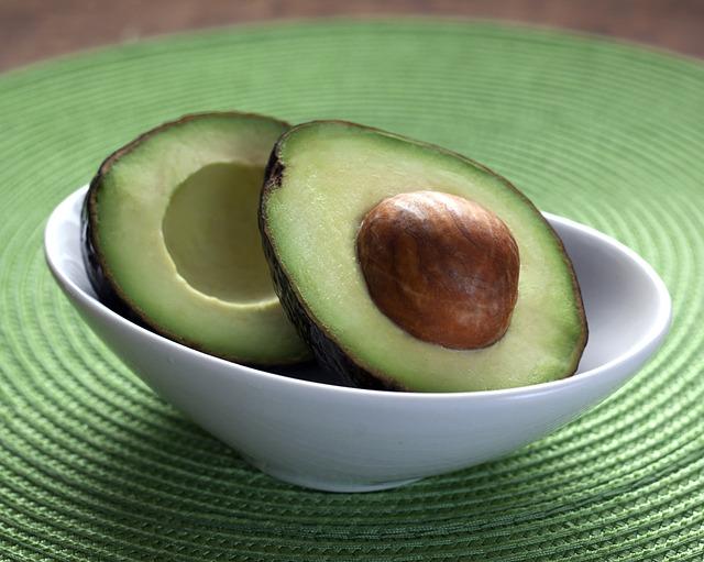 Gesunde Avocado