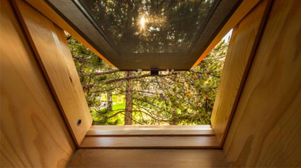 Fenster im Büro zu Hause