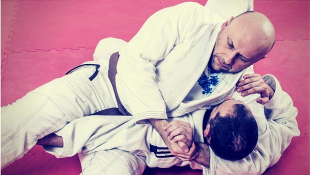 Training im Brazilian-Jiu-Jitsu