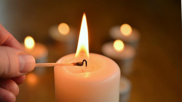 Romantisches Kerzenlicht Kerze