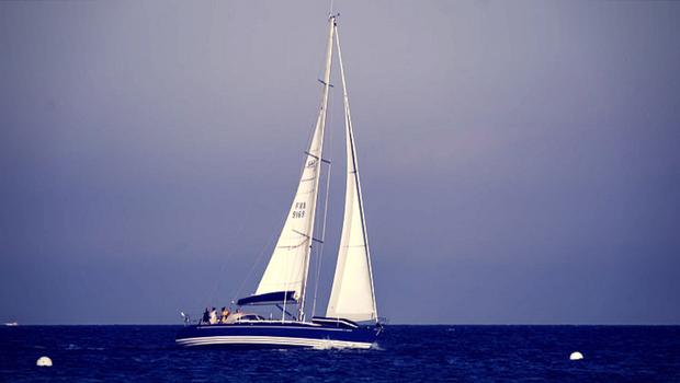 Segeln auf einem Segelboot