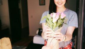 Geschenke für eine junge Dame