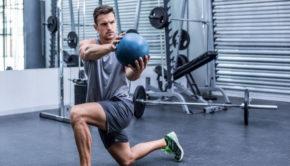 Training mit dem Medizinball