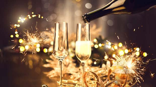 Festliche Anlässe um Champagner zu trinken